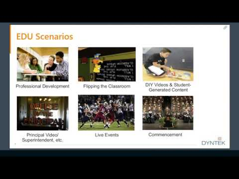 Azure Media Services for Education