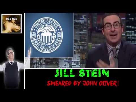 Jill Stein Smeared By John Oliver!