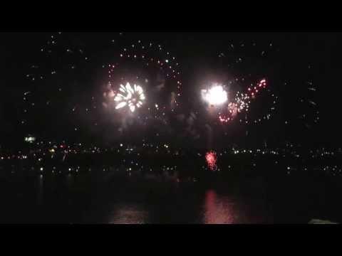 Feu d'artifice LOTO QUÉBEC à Québec ,17 Août 2013, Fireworks in Quebec city, Canada 2013