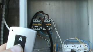 видео автоматика для откатных ворот