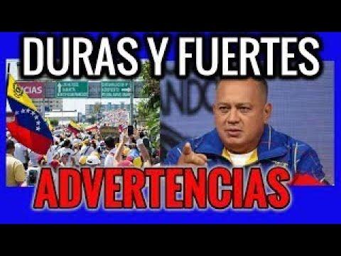 #Venezuela Noticias hoy 8/12/2017, DIOSDADO CABELLO LANZA ADVERTENCIAS, ULTIMAS NOTICIAS V