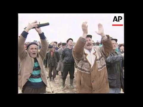 Bosnia - Muslim Protest