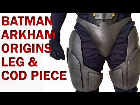DIY Batman Arkham Origins Leg and Cod Piece Foam Armor Tutorial