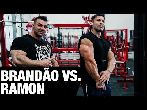 BRANDÃO E RAMON | TREINO DE BRAÇO