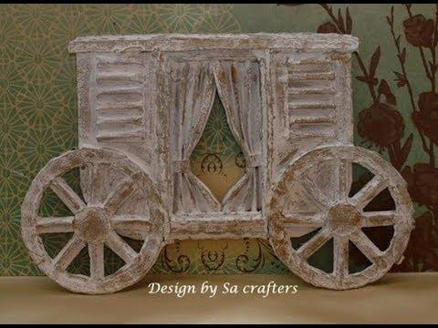 73 Cardboard Chariot Template Trojan Horse Paper Craft