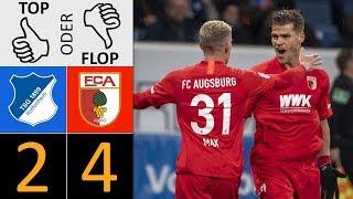 TSG Hoffenheim - FC Augsburg 2:4 | Top oder Flop?