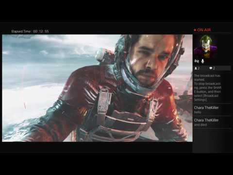 Tehone22's Live PS4 broadcast infinte warfare review featuring adisturbedone