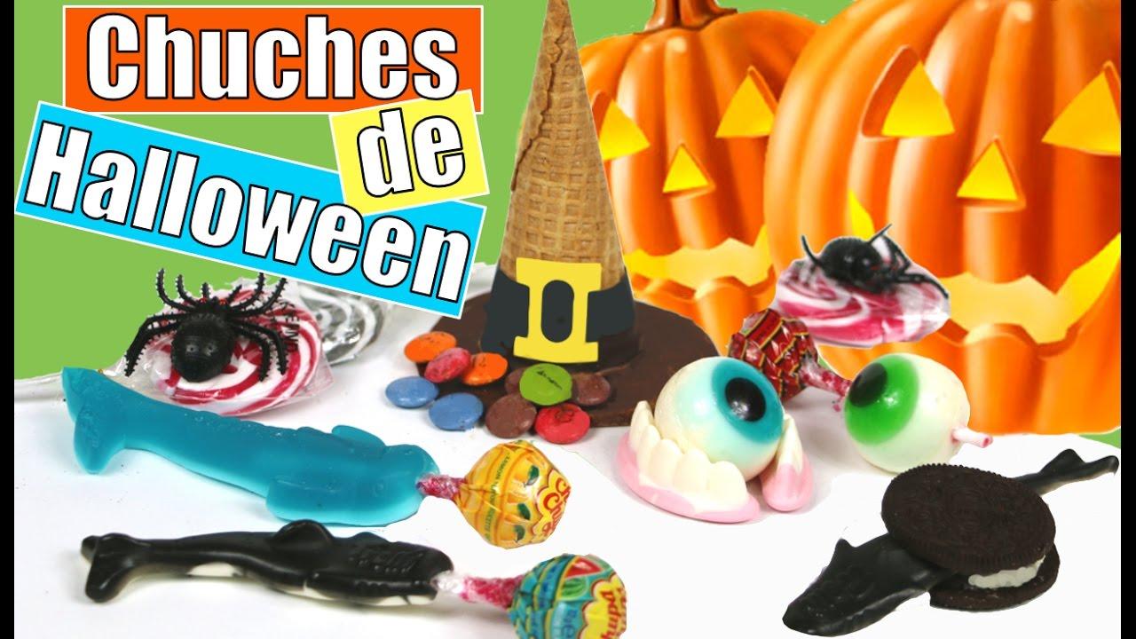 ideas divertidas para la fiesta de halloween para chuches