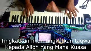 Tingkatkan Iman dan Taqwa Cover Karaoke Lirik by El Farkhan Kebumen