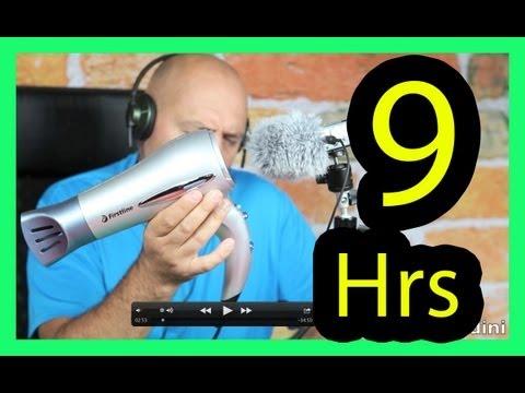 Hair dryer sound Tinnitus sound therapy Phon