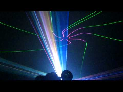 Laser show from Tom Harmon and LaserNet