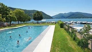 TCS Camping Lugano au bord du lac de Lugano