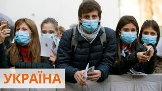 32 смерти от коронавируса в Украине Количество инфицированных возросло до 1 251