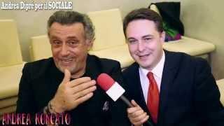 Andrea Roncato (Loris Batacchi) incontrato da Andrea Diprè