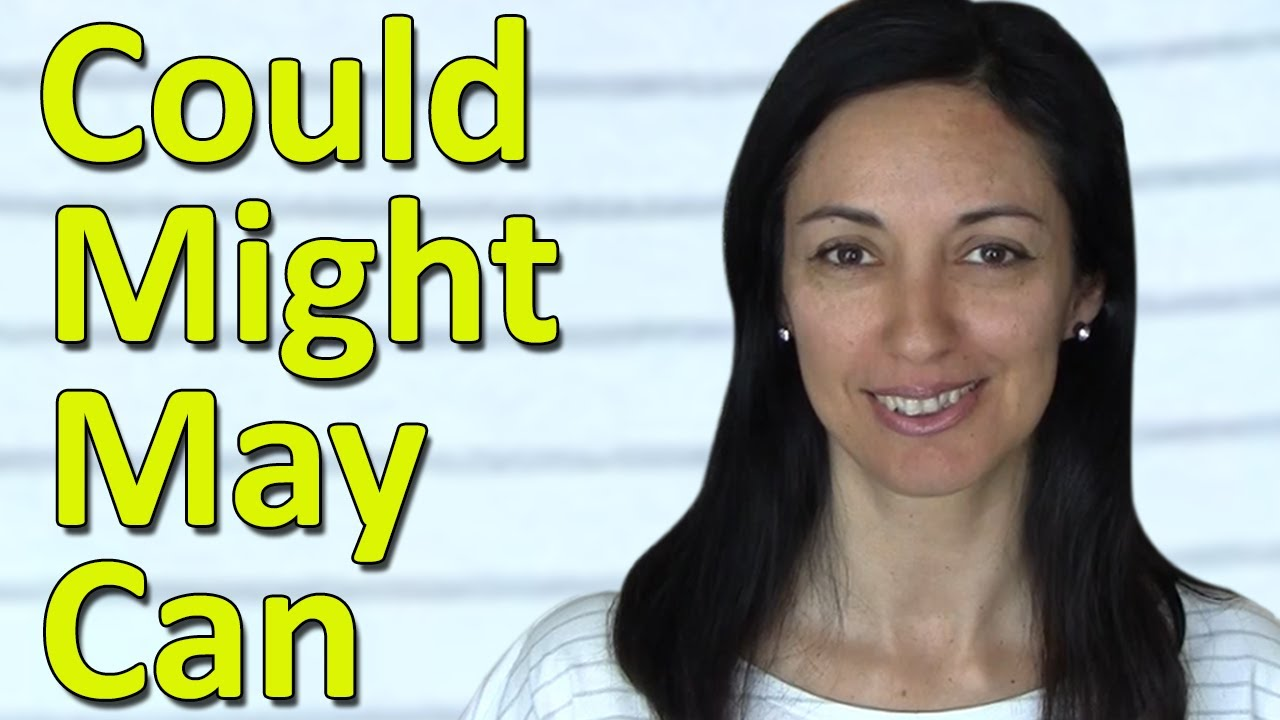 english modal verbs can could may might youtube