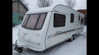 Обзор жилого прицепа для проживания,дома на колёсах,каравана COMPASS MAGNUM 630 двуосный 6 мест!