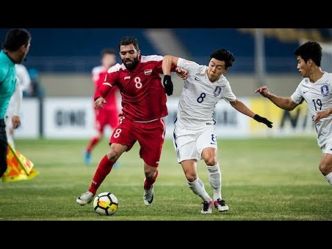 Video: U23 Syria vs U23 Hàn Quốc