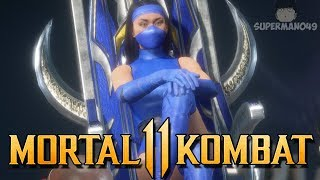 Playing With The AMAZING Klassic Kitana! - Mortal Kombat 11: Kitana Gameplay