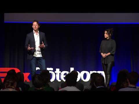 The Game of Love and War | Talib Fisher & Shubhaa Fisher | TEDxGöteborg