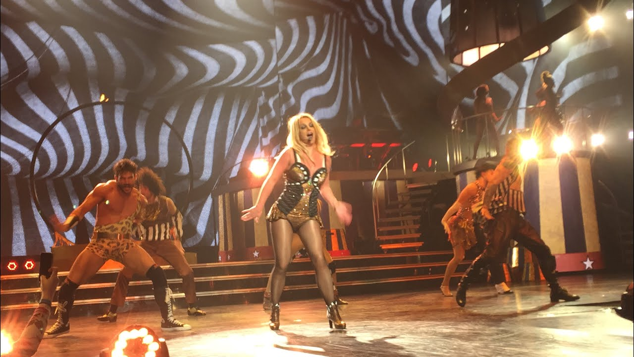 britney spears circus live youtube