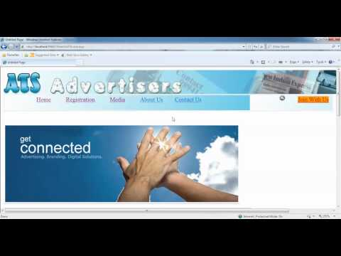 Online Advertisement  Management - Final year ASP.net with C# project