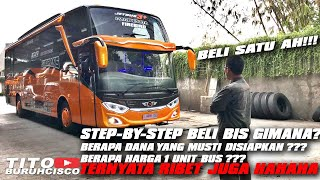 HOW TO BUY BUS IN INDONESIA FROM BEGINING TO THE END STEP BY STEP | READ DESKRIPTION!