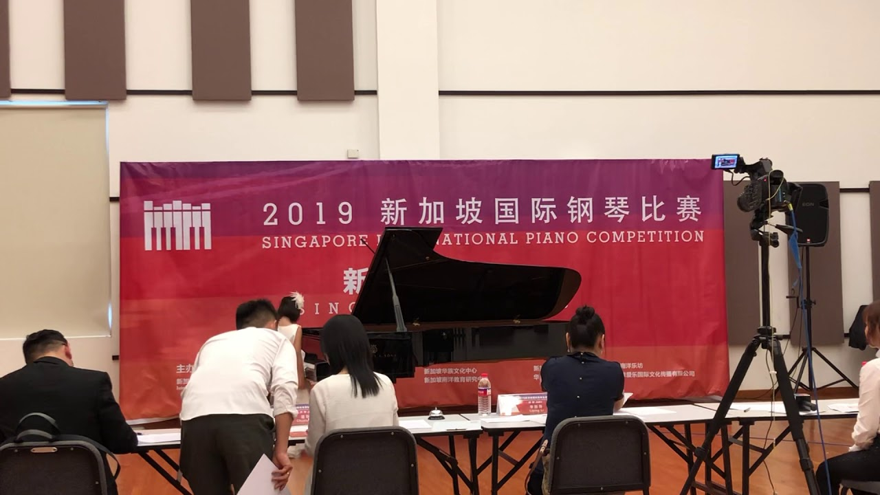 Annie Nantha got first prize from Singapore International Piano