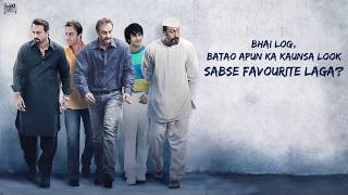 Sanju | What's your favourite look?