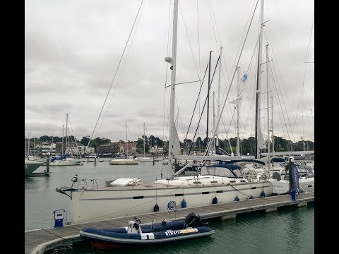 The Yacht Delivery of a Bavaria 55 - Antibes to Hamble