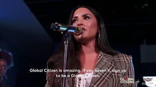 Demi Lovato - Global Citizen + Cadillac Accelerator Series