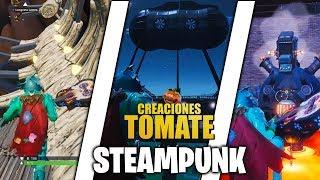 Steampunk - Creaciones Tomate - Episodio 29