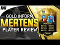 FIFA 16 IF MERTENS REVIEW (83) FIFA 16 Ultimate Team Player Review + In Game Stats