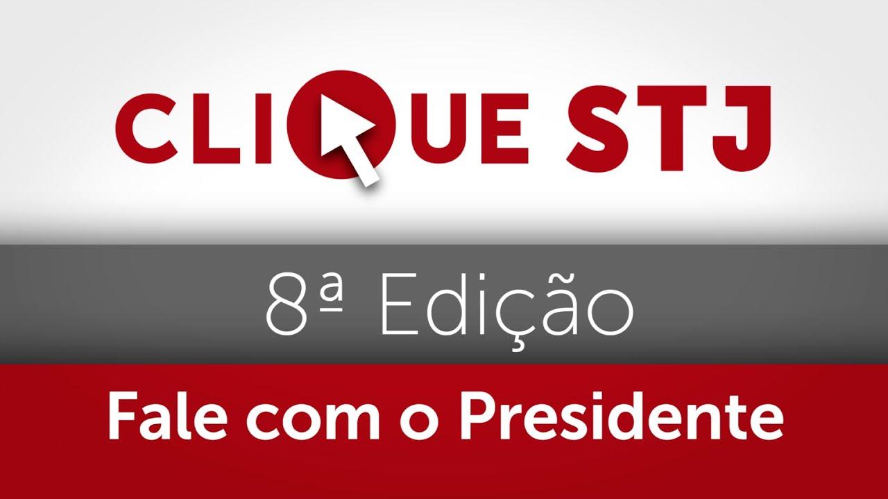 Download STJ promove oitava edição do Fale com o Presidente; 70 cidadãos já foram atendidos pelo projeto