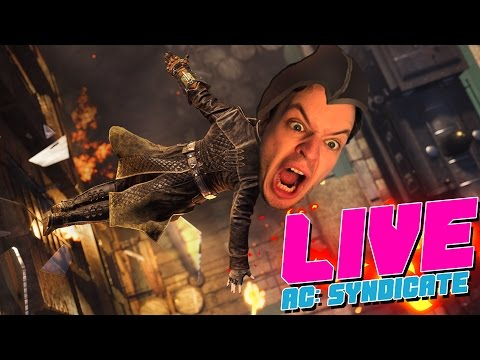 LIVE: Hopper ud af vinduer med knive | Assassin's Creed Syndicate