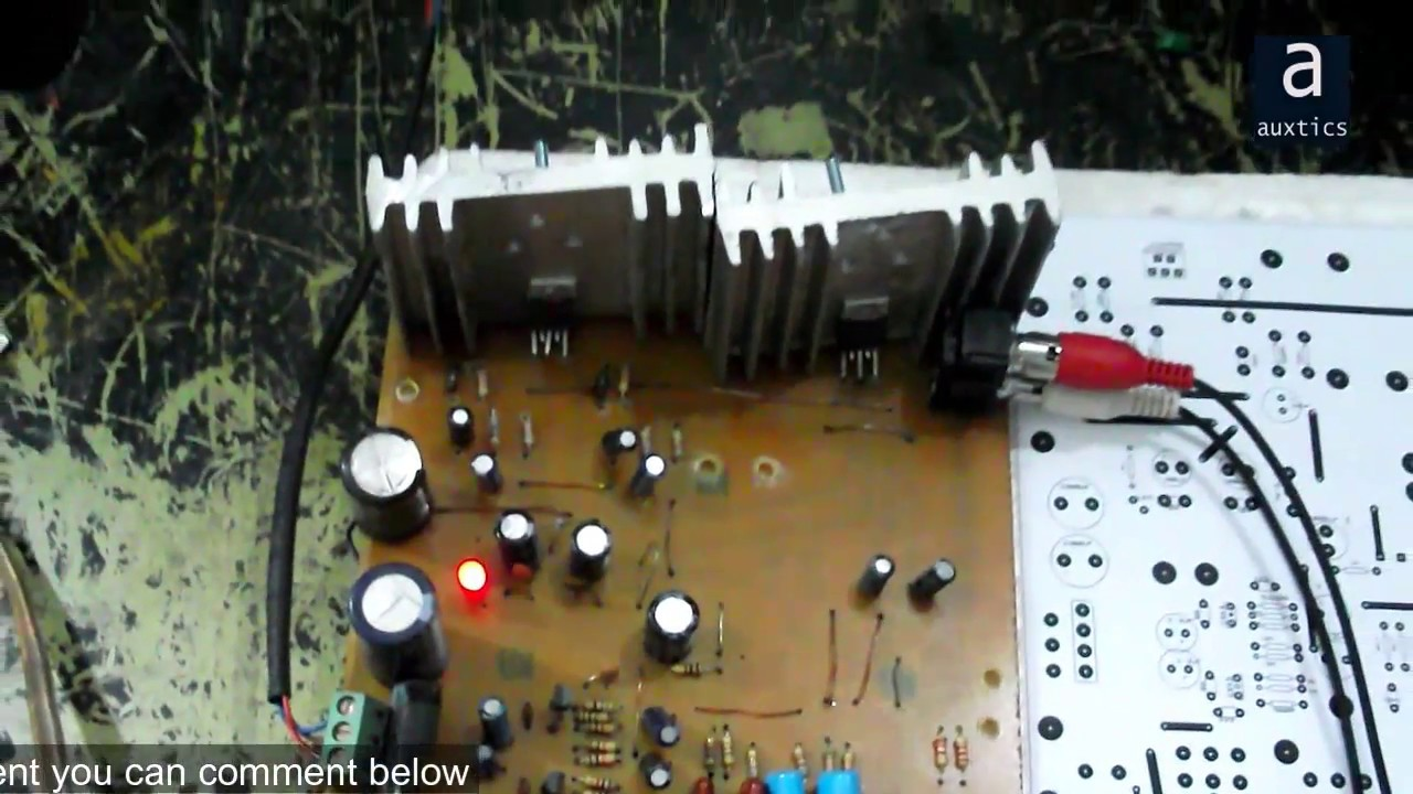 Multipurpose Amplifier Using Tda2030 Circuit Power Amplifiers 40w Diagram