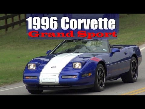1996 Chevrolet Corvette Grand Sport Lt4 C4 Convertible Youtube
