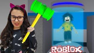 Roblox - A LULUCA VIROU A FERA DA MARRETA (Flee The Facility) | Luluca Games