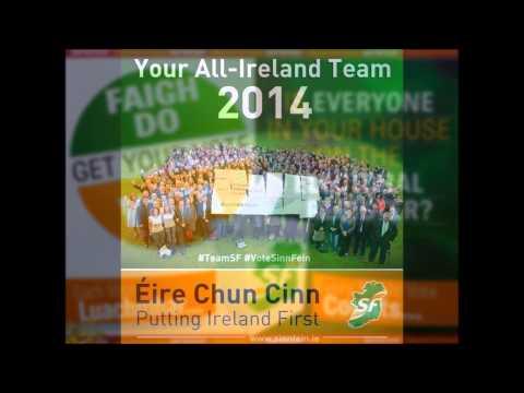 Something inside so strong VOTE Sinn Fein 2014