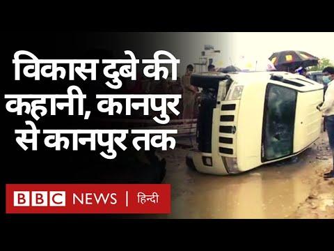 Vikas Dubey Encounter: Kanpur से शुरू और Kanpur में ख़त्म हुई विकास दुबे की कहानी...(BBC Hindi)