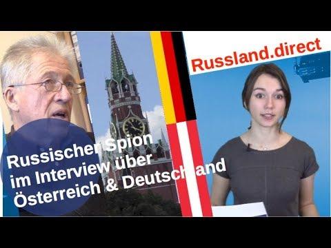 Russischer Spion im Interview zu Österreich & Deutschland