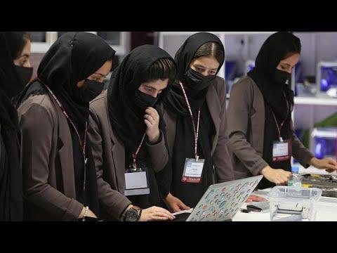 فريق الروبوتات الأفغاني النسائي يصمم مستقبله في قطر