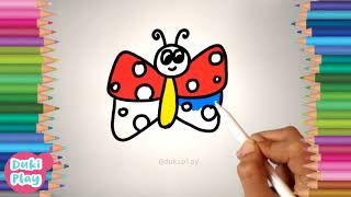 draw butterfly | Learn to Draw | Learn to draw butterfly