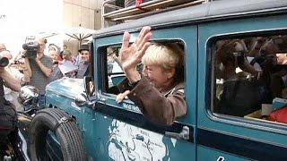 Yetmiş yedi yaşındaki Alman dünya turunda
