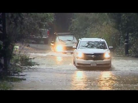 Flooding and snow emergency impact California