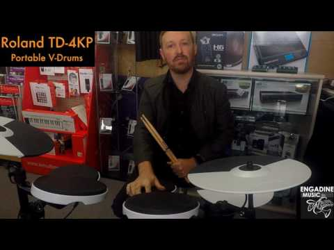 Roland TD 4KP V Drums Review   Engadine Music