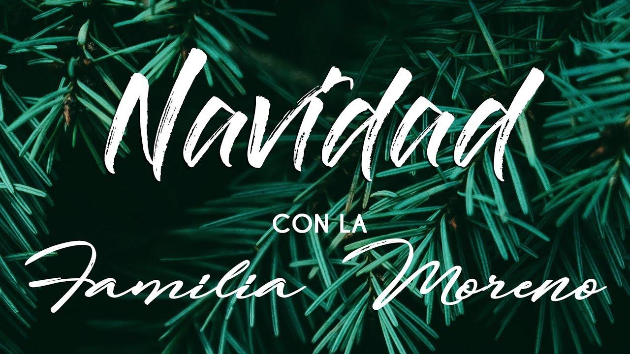 Navidad Con La Familia Moreno (Audio)