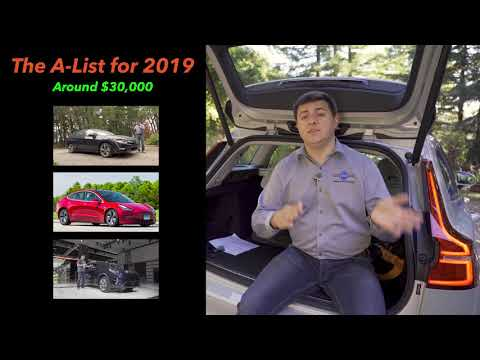 A List - The Best Cars and SUVs of 2018 & 2019