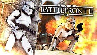 БИТВА ПРОТИВ ДЖЕДАЯ! МОНСТРКИЛЛ ВМЕСТЕ С ШИМОРО! ( Star Wars Battlefront 2 )