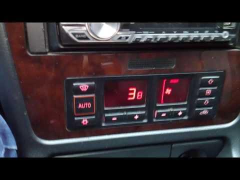 Audi А4 В5 температура ож смотреть  на климате
