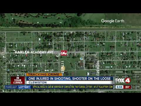 Shots fired in Clewiston, 1 person injured